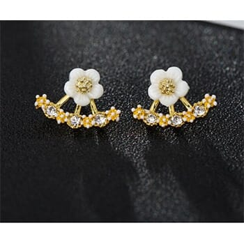 Daisy Earrings Stud With FREE Shipping!