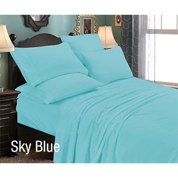 6-Piece: Luxury Home Premium Quality Super Soft Queen Bed Sheet Set with FREE Shipping!