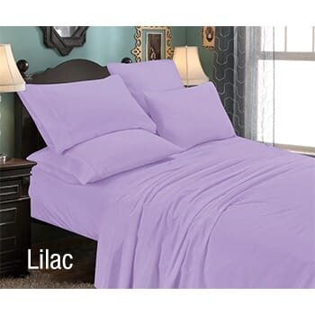 6-Piece: Luxury Home Premium Quality Super Soft California King Bed Sheet Set with FREE Shipping!