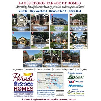 THIS WEEKEND! Lakes Region Parade of Homes