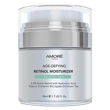 AMORÉ PARIS Retinol 2.5% High Potency Anti-Aging Moisturizer (1.7 Fl. Oz.) - $17.99 with FREE Shipping!