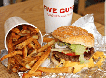 Taste the Town @ Five Guys Burgers & Fries