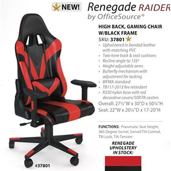 Gaming Chairs 50% Off from NewVo Interiors