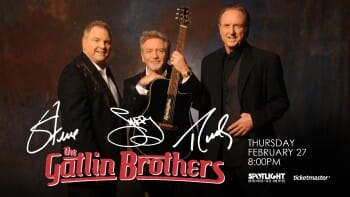Deadwood Mountain Grand-Half Price Ticets to The Gatlin Brothers