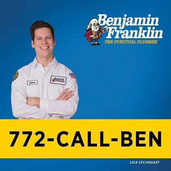 Benjamin Franklin Plumbing Of The Treasure Coast $100 Off Services