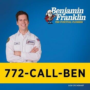 Benjamin Franklin Plumbing Of The Treasure Coast $50 Off Services