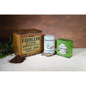Garden Advertising Tins - Set of 3 - $45 with Free Shipping