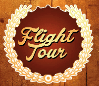 Beer Flight Tasting Tour Card