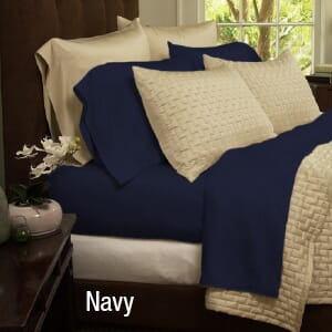 4-Piece Set: Super-Soft 1800 Series Bamboo Fiber Bed Sheets-  $34.99 with Free Shipping-1