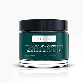 Truewhite Activated Coconut Charcoal - $23.00 with FREE Shipping!