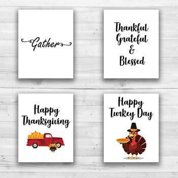 Thanksgiving Wall Prints - 8  x 10  Frame Ready Prints-1