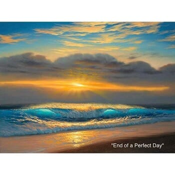 Walfrido - End of a Perfect Day - Canvas
