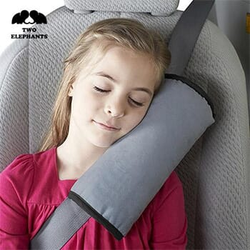 Two Elephants™ Adjustable Seat-Belt Shoulder Pillow With FREE Shipping!