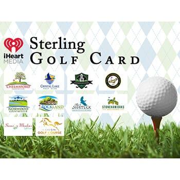 2019 Sterling Golf Card