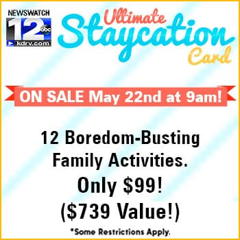 Ultimate Staycation Card 2019