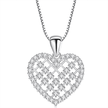 Eternal Love Heart Necklace With FREE Shipping!