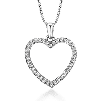 Open Heart Necklace With FREE Shipping!