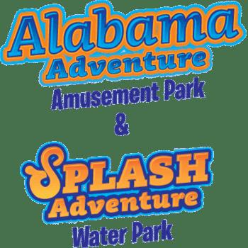Alabama Adventure & Splash Adventure: Half Price Sale