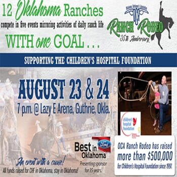 Oklahoma Cattlemen's Association  35th Annual Ranch Rodeo
