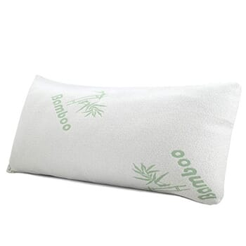 King 1 Pack Bamboo Memory Foam Hypoallergenic Pillow with FREE Shipping!-1