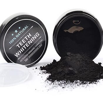 100% Natural Charcoal Teeth Whitening Powder 1-Pack with FREE Shipping!