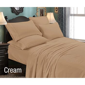 6-Piece: Luxury Home Premium Quality Super Soft Queen Bed Sheet Set with FREE Shipping!-1