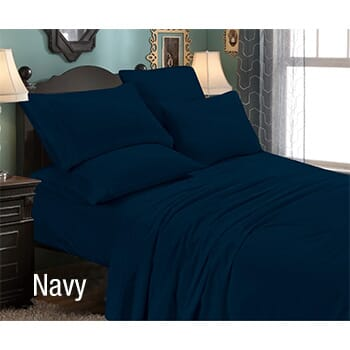 6-Piece: Luxury Home Premium Quality Super Soft California King Bed Sheet Set with FREE Shipping!-1