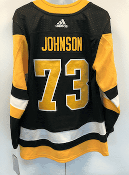 Authentic Pittsburgh Penguins Johnson Jersey Liquidation!