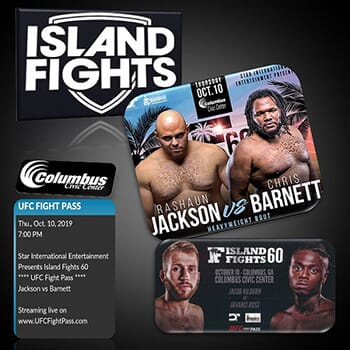 ISLAND FIGHTS 60 - UFC Fight Pass Mixed Martial Arts Full-Contact Combat!