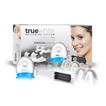 Truewhite Advanced Plus Charcoal for Two! -$20.00 with FREE Shipping!