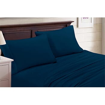 4-Piece Set: Bamboo Blend Bedsheets Size: Full - $21.99 with FREE Shipping!-1