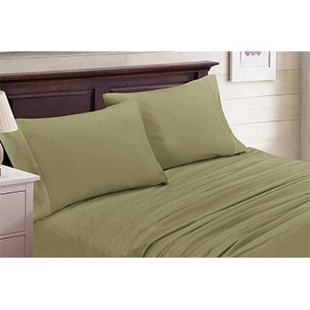 4-Piece Set: Bamboo Blend Bedsheets Size: California King - $29.99 with FREE Shipping!-1