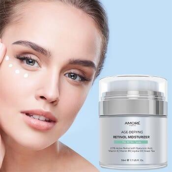 AMORÉ PARIS Retinol 2.5% High Potency Anti-Aging Moisturizer (1.7 Fl. Oz.) - $17.99 with FREE Shipping!-1