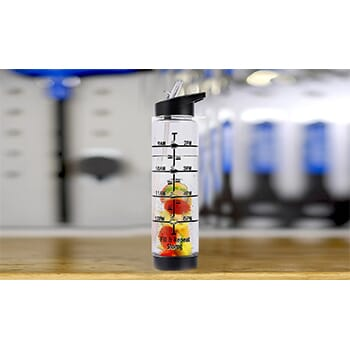 32oz Time Marking Fruit Infusion Water Bottle - $11.99 With FREE Shipping!-1