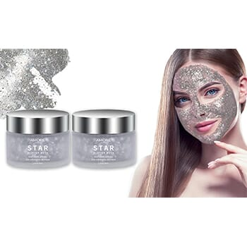 Deep Cleansing Purifying Glitter Peel-Off Facial Mask - $11.99 with FREE Shipping