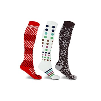Patterned Compression Socks - $14.99 with FREE Shipping!