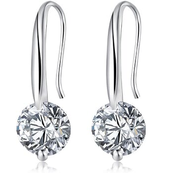 Cubic Zirconia Dangle Earrings with FREE Shipping!