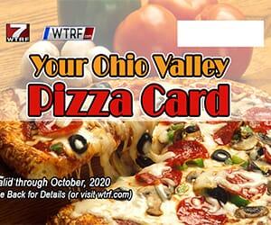 WTRF Pizza Card