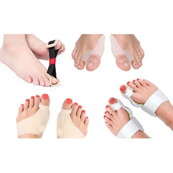 Complete Orthopedic Bunion Corrector and Relief Kit (8-Piece) - $19.99 with FREE Shipping!