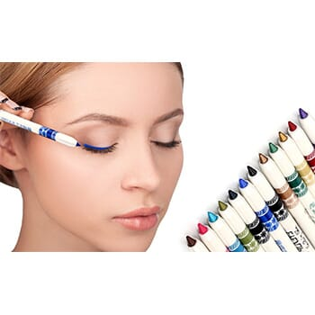 Professional Vivid Multi-Color Eye and Lip Liner Pencil Set - $14.99 with FREE Shipping!