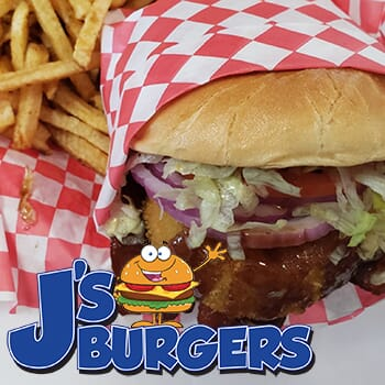 J's Burgers: Get $50 worth of vouchers for $25