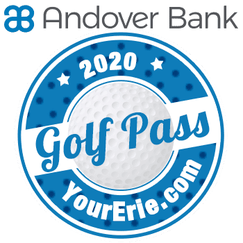 2020 YourErie.com/Andover Bank Golf Pass - Holiday Sale