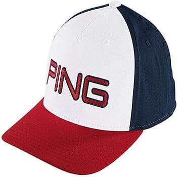 Ping Flexfit Tech  110  Cap Red, White & Blue