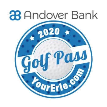 2020 YourErie.com/Andover Bank Golf Pass - Holiday Sale
