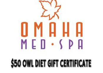 Omaha Med Spa Cyber Monday- $50 Gift Certificate Towards OWL Diet Plan