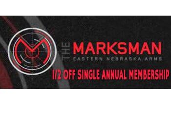 The Marksmen Cyber Monday - Single Annual Membership