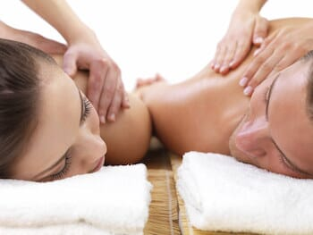 90 Minute Couples Massage with Lavender Infused Face & Scalp