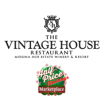 $50 Voucher for $25 to The Vintage House Restaurant at Messina Hof Winery and Resort - Half Price Holidays Marketplace
