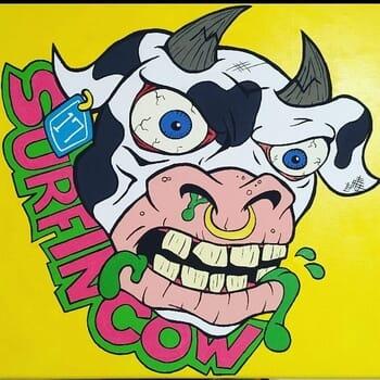 Surfin' Cow Comics