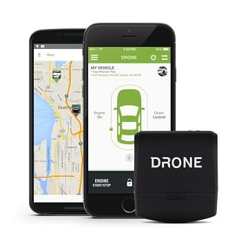 Drone Smart Phone Remote Car Starter
